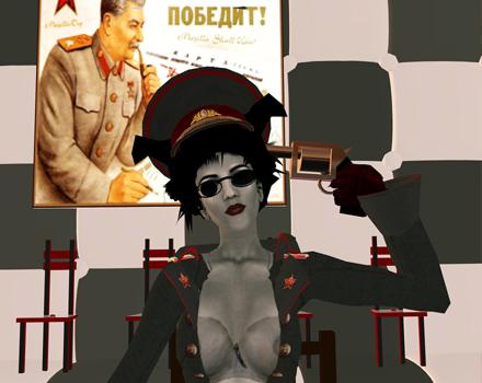 Gazira Babeli Self-portraits - Russian Roulette