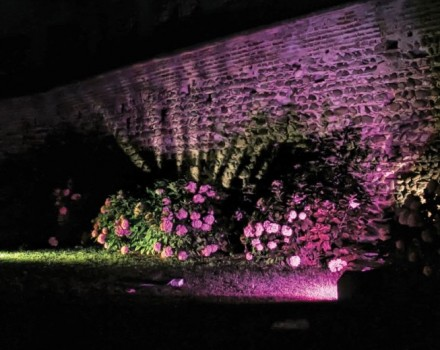 Lighting design nel cuore verde di Roma