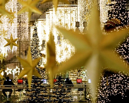 Berlino - Luci di Natale a Potsdamer Platz