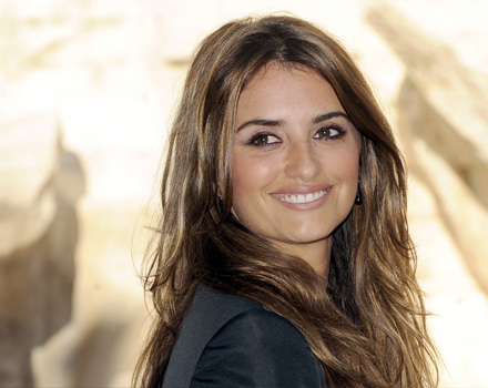 Penelope Cruz sul set di Sex and the City