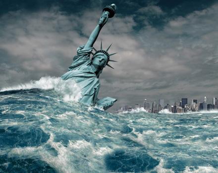 Disastro a New York