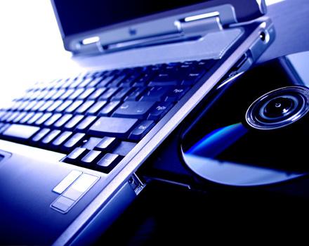 Laptop e CD