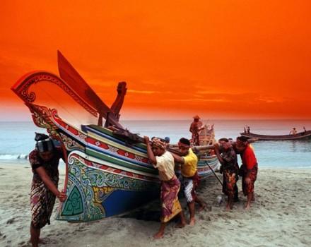 Malesia barca tradizionale