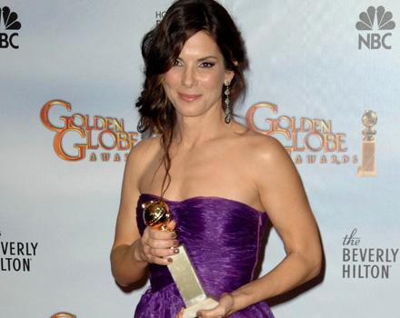 Sandra Bullock trionfa ai Golden Globe