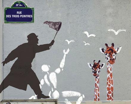 Arte urbana per le strade di Belleville