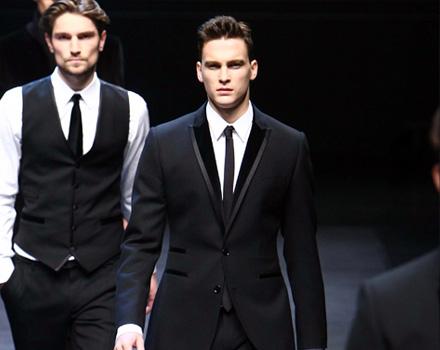 Dolce e Gabbana Uomo AI 2010 - 11