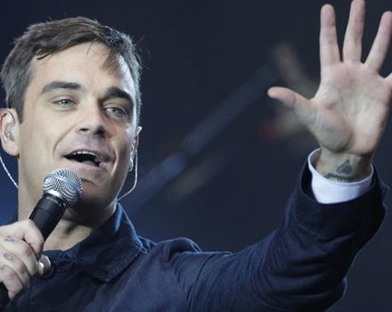 Un San Valentino speciale per Robbie Williams