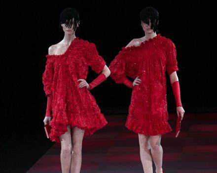 Giorgio Armani Milano Moda Donna Autunno Inverno 2010 2011