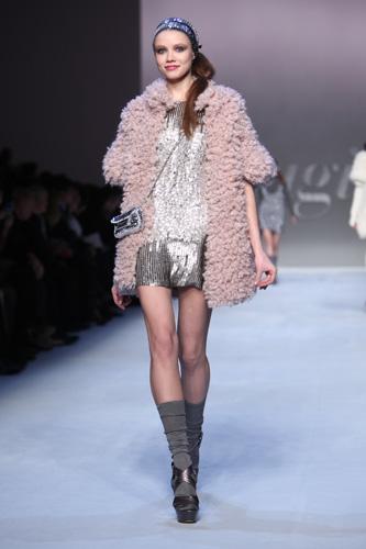 Blugirl knit style: maglia e paillettes