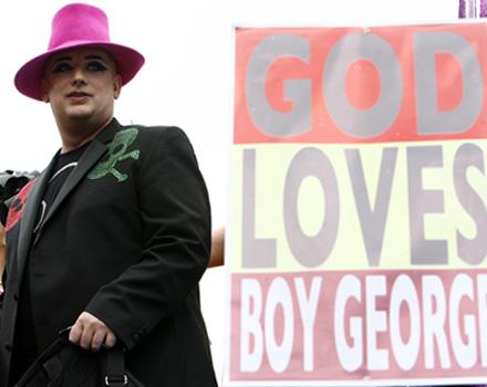 Amazing Grace, il ritorno di Boy George