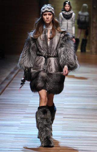 DG Milano Moda Donna Autunno Inverno 2010 2011