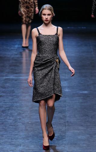 Dolce Gabbana Milano Moda Donna Autunno Inverno 2010 2011