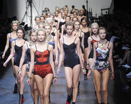 Sfilata Dolce e Gabbana primavera estate 2010