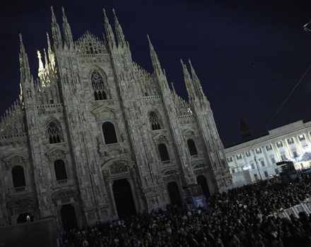 Evento Costume National, Duomo di Milano