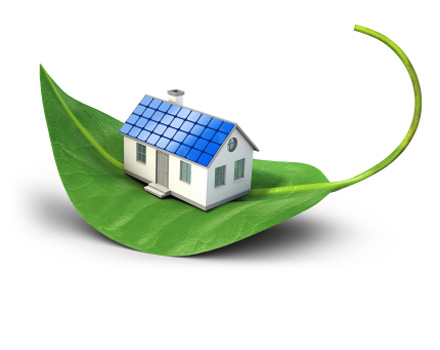 Una casa ecologica e autosufficiente