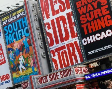Notti calde nei teatri di Manhattan