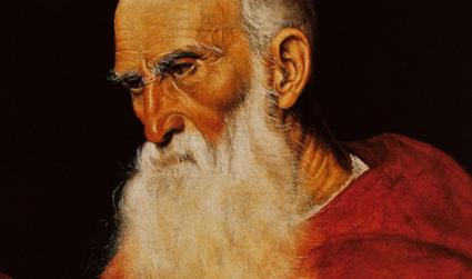 Ritratto di Cardinale opera di Jacopo del Ponte
