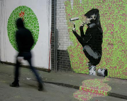 A Londra si pratica la Guerrilla Art