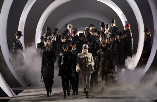 Hermès sfilate Parigi Autunno Inverno 2010 2011