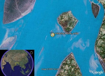 Lohachara isola scomparsa
