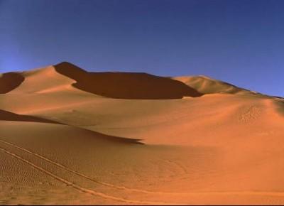 Libia deserto del Sahara