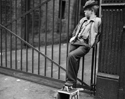 Foto di Stanley Kubrick A tale of a shoe-shine boy 1947