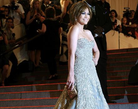 Jennifer Lopez al Gala del Costume Institute