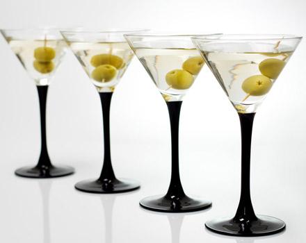 Martini con olive