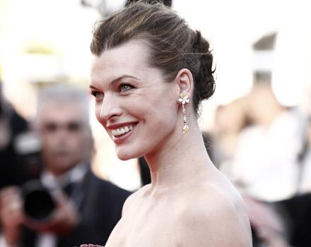 Milla Jovovich al Festival di Cannes