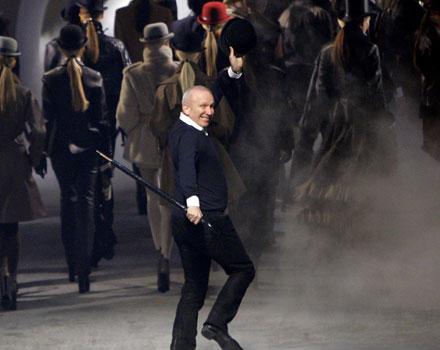 Jean Paul Gaultier sfilata autunno inverno 2010 2011 Hermès
