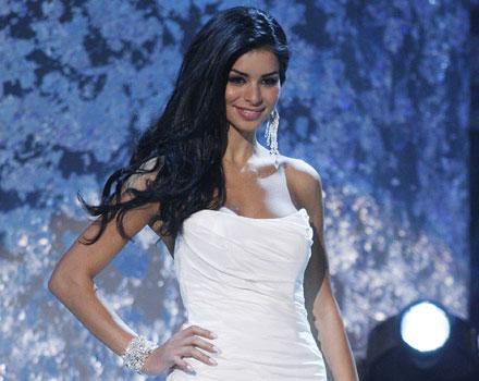 La modella Rima Fakih