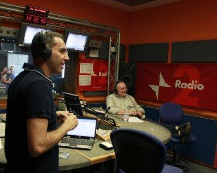 La radio è On Air in tv