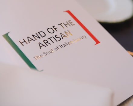 Il libro Hand of the Artisan: The Soul of Italian Luxury