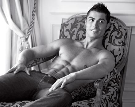 Cristiano Ronaldo per Armani: le prime immagini