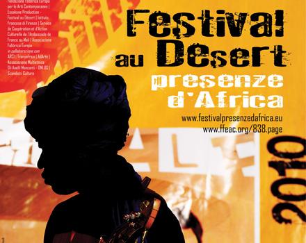 Festival au Désert, locandina
