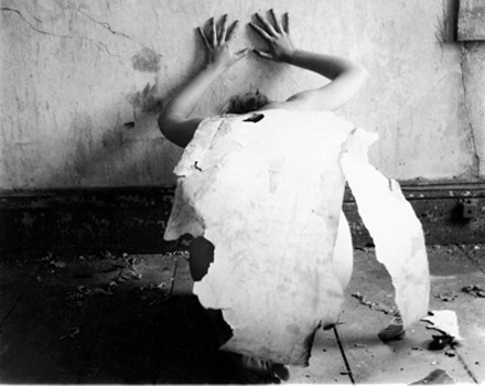 Francesca Woodman, Then at one point I did not need to translate the notes; they went directly to my hands