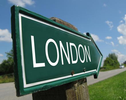 Cartello Londra