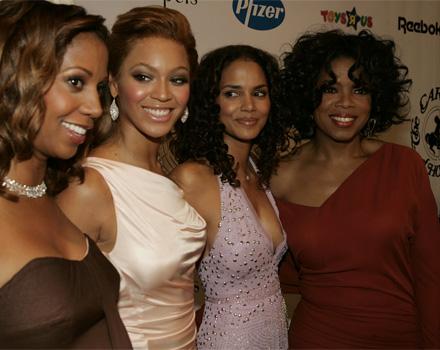 Oprah Winfrey e Beyonce Knowles
