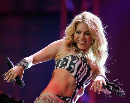 Shakira regina dei Mondiali 2010