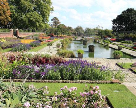 Inizia l'Hampton Court Palace Flower Show