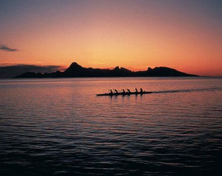 A Tahiti per l'eclissi di sole
