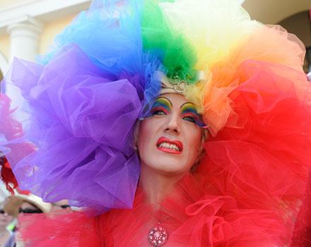 Drag Queen al Gay Pride