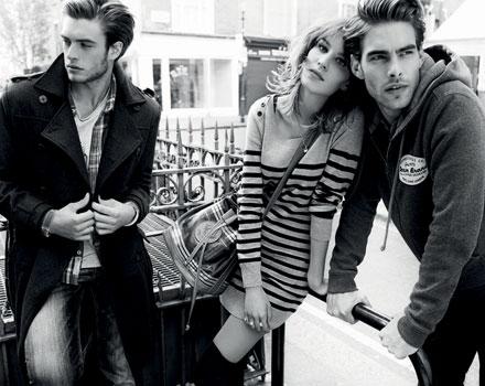 Campagna pubblicitaria Autunno Inverno 2010 2011 Pepe Jeans London