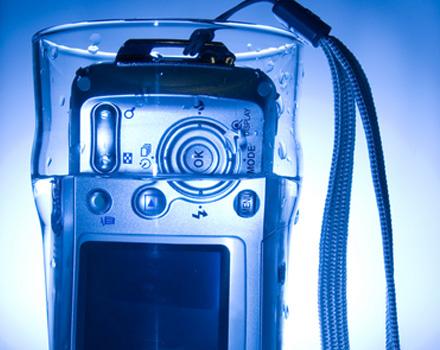 Fotocamera waterproof