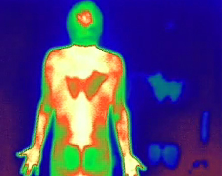 Human Traces 10, thermographic photo 2010