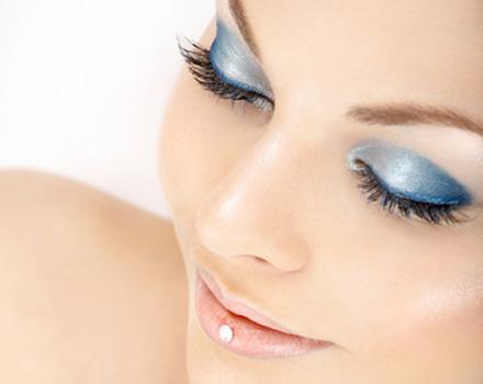 make up con cristalli