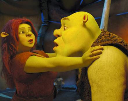Shrek soffre la crisi di mezza età