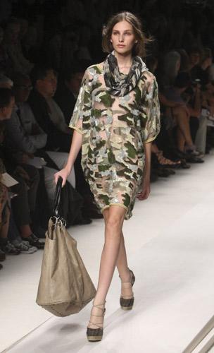 Military Look Primavera Estate 2010