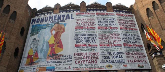 Barcellona, Plaza de Toros Monumental: Cartellone