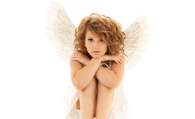 ragazza angelo